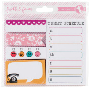 Freckled Fawn Chit Chat Sticky Notes 5/Pkg