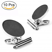 Magnetic Clips, AIEX 10 Strong Refrigerator Magnetic Hook Clips with Neodymium Magnet, Perfect Fridge Magnets Office Magnets Photo Magnets for House Office