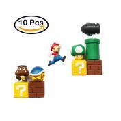 Seiorca Fridge Magnets, Mario Decorative Refrigerator Magnets Kitchen Kit, School Office Fun Decoration Whiteboard Magnet