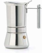 Vespress Stainless Steel Espresso Maker 4 Cup Size