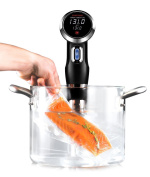 Chefman Sous Vide Precision Cooker w/ Digital Display & Accurate Temperature / Time Control, Thermal Immersion Circulator