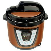 10-in-1 PressurePro 5.7l Pressure Cooker - Multi-Use Programmable Pressure Cooker, Slow Cooker, Rice Cooker, Steamer, Sauté, Canner, Egg Maker, Yoghurt Maker and Warmer - Copper