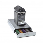 Mind Reader 'Anchor' Nespresso Capsule Storage Drawer 50 capacity, Silver