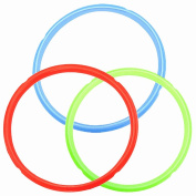 Silicone Sealing Ring Colour Coded Sweet Savoury Rings for 5.7l 5.7l Instant Pot Models Rubber Gasket Pressure Cooker Replacement Parts