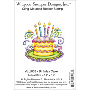 Whipper Snapper Cling Stamp 10cm x 15cm