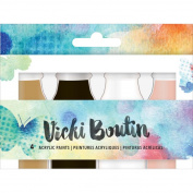 Vicki Boutin Mixed Media Acrylic Paint 50ml 4/Pkg
