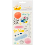 Amy Tan Finders Keepers Rub-Ons 9.5cm x 17cm 2/Pkg