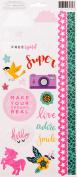 Shimelle Glitter Girl Stickers 15cm x 30cm