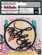 Vicki Boutin Ephemera Cardstock Die-Cuts 50/Pkg