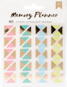 American Crafts Memory Planner Photo Corner Stickers