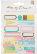 American Crafts Memory Planner Label Stickers