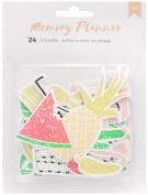 American Crafts Memory Planner Ephemera Die-Cut Stickers