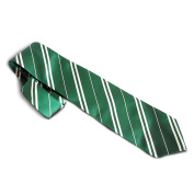 Harry Potter - Slytherin officially licenced tie - Green and silver - Hogwarts accessory