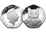 2017 UK Tom Kitten CERTIFIED BU 50p