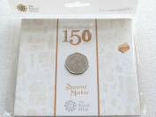 2016 Beatrix Potter Squirrel Nutkin 50p Fifty Pence Coin Pack by the Royal Mint