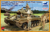 Bronco Models CB35069 Model Kit US Light Tank M 24 Chaffee – WWII