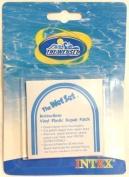 Intex Self Adhesive Vinyl Plastic Inflatable Repair Patch - Pack of 6