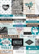 Zella Teal Stickers