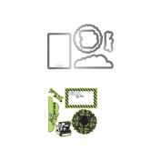 Everyday Eclectic #2 Stamp & Diecut Set // Hampton Art // Sizzix