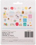 Happy Hooray Ephemera Cardstock Die-Cuts 40/Pkg