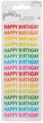 Happy Hooray Clear Repeat Stickers 2/Pkg