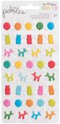 Happy Hooray Puffy Stickers