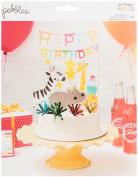 Happy Hooray Cake Topper Embellishments