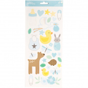 Lullaby Cardstock Stickers 14cm x 28cm 2/Pkg