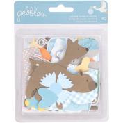 Lullaby Ephemera Cardstock Die-Cuts 40/Pkg
