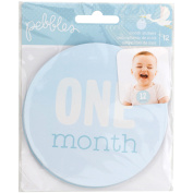 Lullaby First Year Age Stickers 12/Pkg