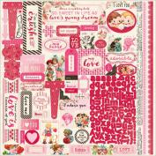 Adore Cardstock Stickers 30cm x 30cm