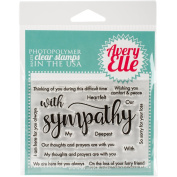 Avery Elle Clear Stamp Set 10cm x 7.6cm