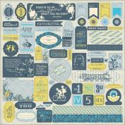 Favourite Cardstock Stickers 30cm x 30cm