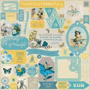Felicity Cardstock Stickers 30cm x 30cm