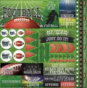 Football 2 Elements Stickers 30cm x 30cm