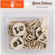 Good Fellows Wood Veneer Embellishments