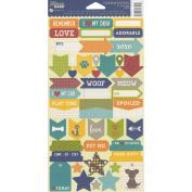 Fur Fusion Cardstock Stickers 15cm x 30cm