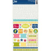 Souper Celebration Cardstock Stickers 15cm x 30cm