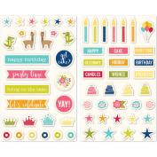 Souper Celebration Puffy Stickers 2/Pkg