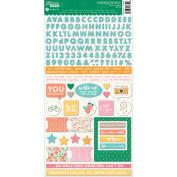 Bowl Of Dreams Cardstock Stickers 15cm x 30cm