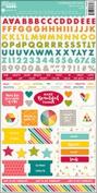 Shades Of Colour Cardstock Stickers 15cm x 30cm 166/Pkg