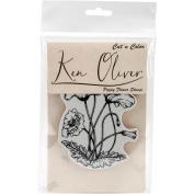Ken Oliver Cut 'n Colour Cling Stamp