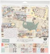 Authentique Paper Collection Kit, Multicoloured, 34.54 x 31.49 x 0.76 cm