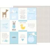 Lullaby Double-Sided Cardstock 30cm x 30cm