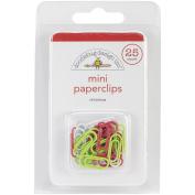 Sugarplums Mini Paperclips 25/Pkg