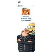 Despicable Me3 Flip Pack Stickers 6 Sheets