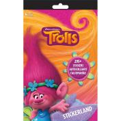 Trolls Stickerland Pad 4/Pages