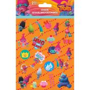 Trolls Foldover Stickers 2 Sheets