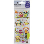 Paper House Puffy Stickers 7.6cm x 16cm