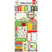 Bug Collection Stickers 15cm x 30cm